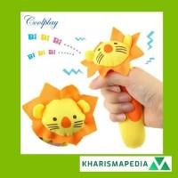 Mainan Boneka Tangan Bayi Bunyi Baby Hand Rattle Toy Stick
