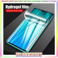 Anti Gores Hydrogel 2 in 1 Xiaomi Redmi Note 8 Pro Depan Belakang