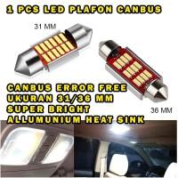 LAMPU LED PLAFON CANBUS LED KABIN 12 TITIK ERROR FREE SUPER BRIGHT
