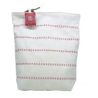 Meiriadhiana Totebag Reversible - Putih Kombi Merah