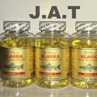 K-MAX ALASKA Deep Sea Fish Oil Super Omega 3,6,9 1000mg - Minyak Ikan