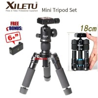Portable Lightweight Tripod with 360 Ball Head for Camera Smartphone
