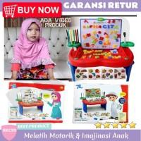 B56 Mainan Edukasi Anak Perempuan Laki Laki Meja Belajar Anak Lipat