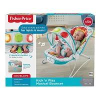 Fisher Price kick and play musical bouncer / Peralatan Bayi