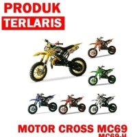 motor trail anak mini cross Lenka 69 mainan anak motor 49cc