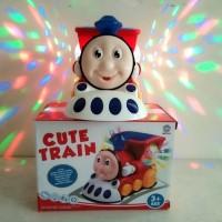 Mainan Thomas Cute Train 3D Light