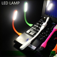 USB LED Light Emergency Stick Portable Lampu Baca Senter LED Sikat