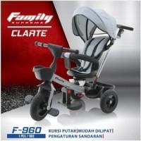 Sepeda roda tiga Family Supreme Clarte F-960