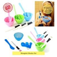 MURAH Mangkok Masker Set Kosmetik Wajah Muka Tempat Mask Bowl Bagus