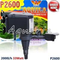 Aquila Water Pump P2600 Pompa Celup Akuarium & Kolam