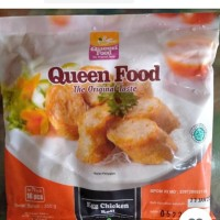 Queen food egg chicken roll 350gr