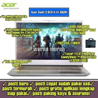 LAPTOP ACER SWIFT 3 SF314-41-R9ZM AMD ATHLON 330U RAM 4GB 256GB SSD