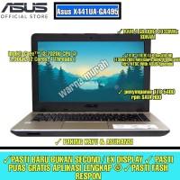 LAPTOP ASUS X441UA INTEL CORE I3 GEN 7 RAM 4GB HDD 1TB LAYAR 14INCH