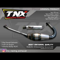 Knalpot Ninja 150 R RR S SS Plat Karat TNX Racing Product Not cms kdx