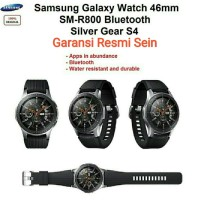 Samsung Galaxy Watch Gear S4 46mm Original Garansi Sein
