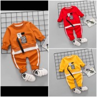 Baju Setelan Anak Laki Laki dan Perempuan Import VALENTINO