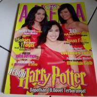 majalah Aneka YESS Heboh Harry Potter no poster