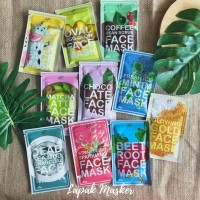 25Gr Masker Wajah Organik by Huppies