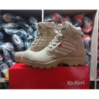 sepatu boots safety kickers delta low 3 warna bahan suede