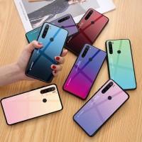 Gradient Glass Case Xiaomi Redmi Note 8 Note8 RedmiNote8 Casing HP