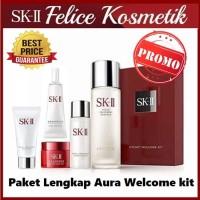 SK-II SKII SK2 PAKET WELCOME KIT AURA ESSENCE ANTIAGING GLOWING