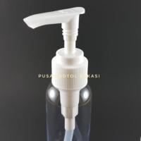 Botol Pet 60 ml pump Spray Fliptop presstop