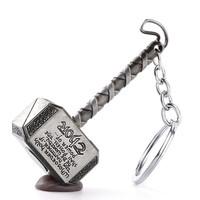 Gantungan kunci / keychain / Avengers / key chain / unik / imut Thor - silver