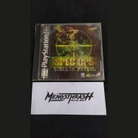 kaset game spec ops stealth patrol playstation 1