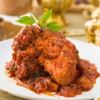 Rendang Daging Ayam 1 KG Termurah