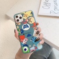 Soft Case Monster Inc For Iphone 11,11 Pro & 11 Pro max - Hitam