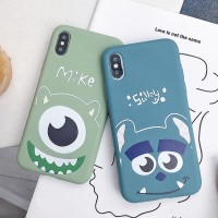 Soft Case Mike & Sully For Iphone 11, 11 Pro & 11 Pro max