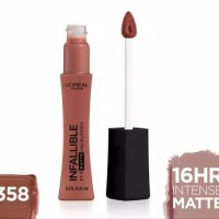 358 Cowboy L'Oreal Paris Infallible Pro Matte Liquid Lipstick