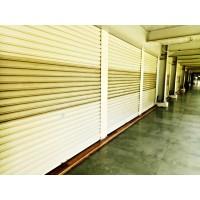 Pintu Rolling Door One Sheet Polos / Perforasi 3 Baris / Full Perforas
