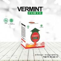 Vermint Forte isi 16 - khasiat 2x lebih cepat