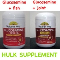 Nature's nature natures way glucosamine fish oil / joint repair 200