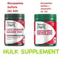 Nature's nature natures own glucosamine sulfate / chondoritin 160 /200