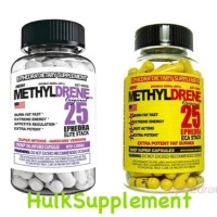 methyldrene methyl drene original 25 elite / eca stack ephedra