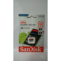 MICROSD SANDISK A1 32GB UHS 98MBPS/NO ADAPTOR