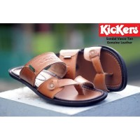 SANDAL PRIA KICKERS VASCO 3 WARNA BAHAN KULIT UK 38-44