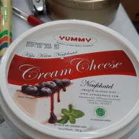 Yummy cream cheese neufchatel 250gr