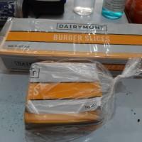 Dairymont keju orange 28 lembaran, melted dan lumer cocok u/ roti dll