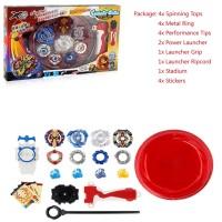 Beyblade Burst Evolution Kit Set Arena Stadium Toy Gift Kids Play Bat