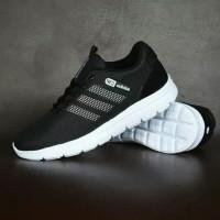 SEPATU ADIDAS NEO RUNNING HITAM/ CITY RACER hitam/ Sepatu nyaman