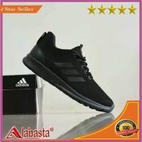 SEPATU ADIDAS RUNNING FULL HITAM/ Sepatu QUESTERRIDE