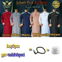 Fashion Muslim Jubah Saudi / Gamis Pria / Baju Muslim Koleksi Rafvero