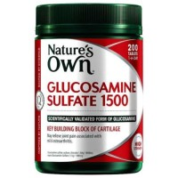 Suplemen Makanan Natures Own Glucosamine Sulfate 1500 200 Tablets