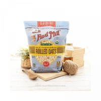 Bob s Red Mill Gluten Free Organic Old Fashioned Rolled Oats 907 gr