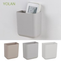 YOLAN Sticky Case Mobile Phone Plug Holder Stand Rack Container Air