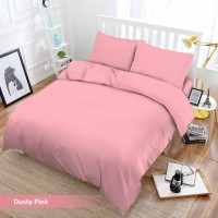 Bed Cover Vito Signature - POLOS - DUSTY PINK - 180x200 (King)