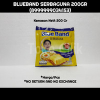 margarine/blueband/serbaguna/200 gr/bahan/kue/cake/masak/makanan/bbq